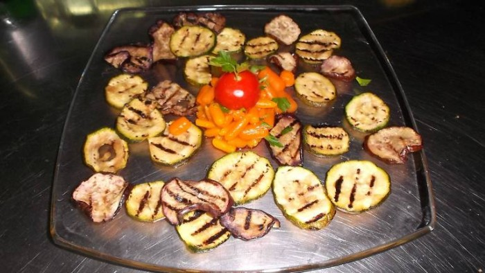 Le Macine, verdure grigliate