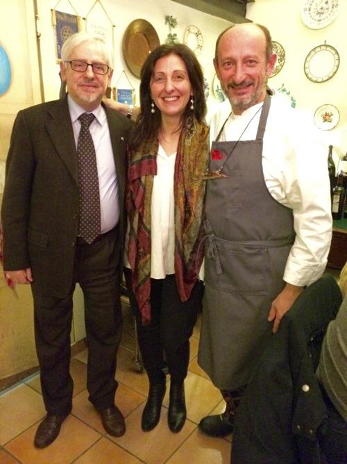 Leonardo Manganelli, Emanuela Mastrodomenico e Beppe Schino