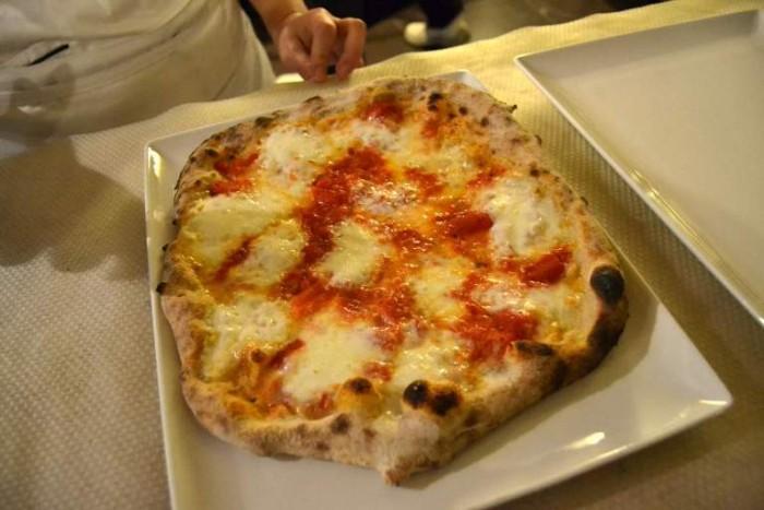 Lievito 72, pizza margherita