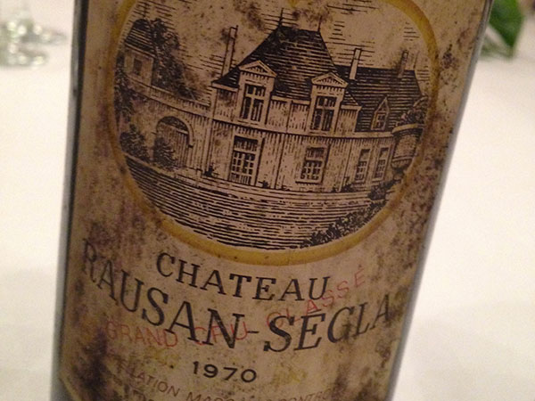 Margaux 1970 Château Rausan-Segla