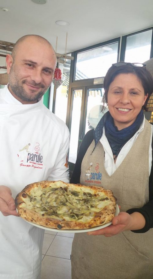 Marilena Bambinuto  con Giuseppe Pignalosa