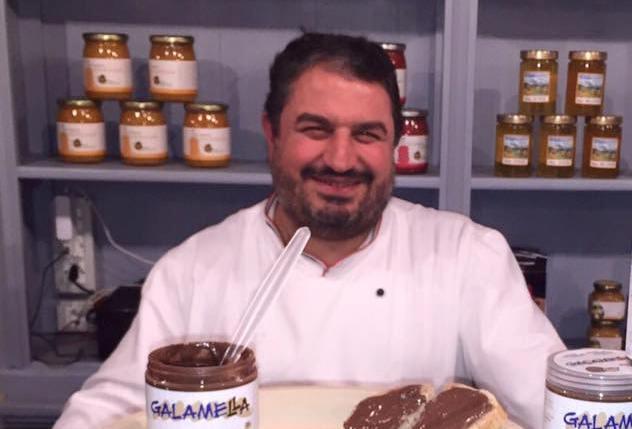 Michele Leo nella pizzeria MozzaBella