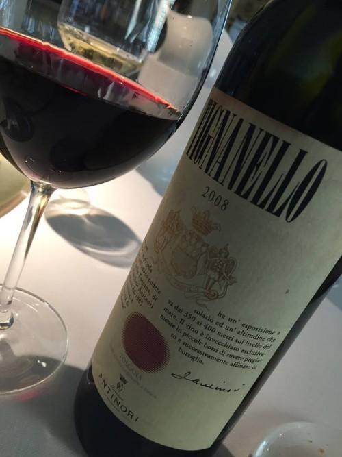 Pipero al Rex, il vino