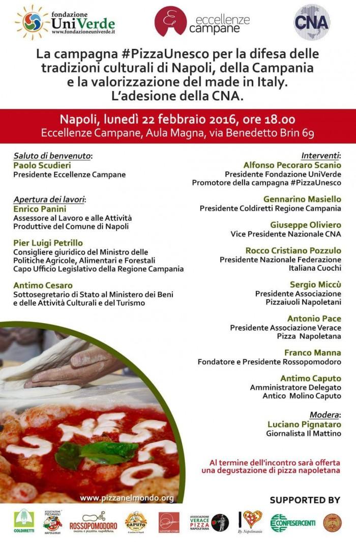 Pizza Napoletana Patrimonio Umanità