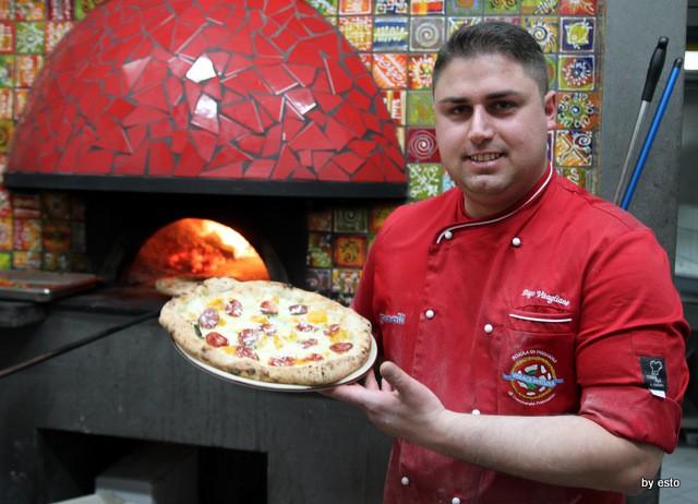 Pizzeria 18 Archi. Diego Vitagliano Pizza Conciccia