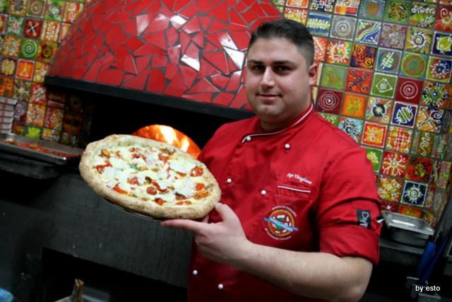 Pizzeria 18 Archi. Diego Vitagliano Pizza alga e cozze