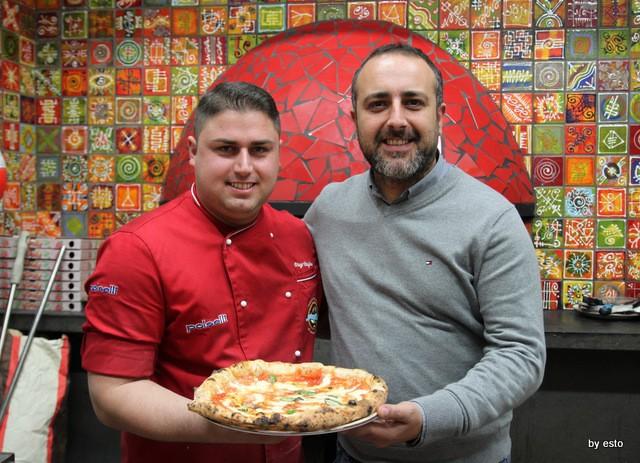 Pizzeria 18 Archi. Diego Vitagliano e Gennaro Giaccio
