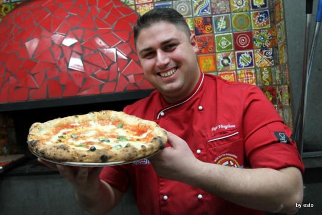 Pizzeria 18 Archi. Diego Vitagliano e la Pizza Margherita