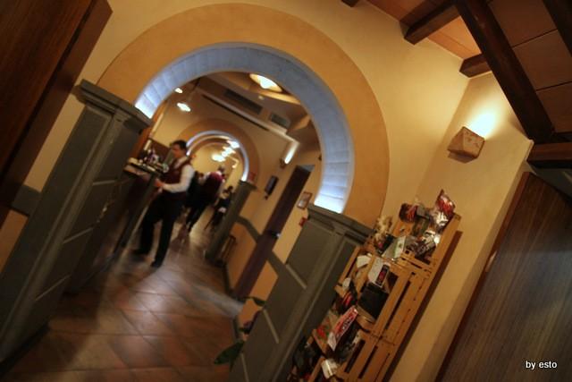 Pizzeria 18 Archi. Gli interni