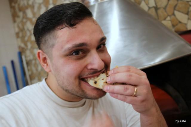 Pizzeria Giglio. Lasagna che pizza. Magnatavélla