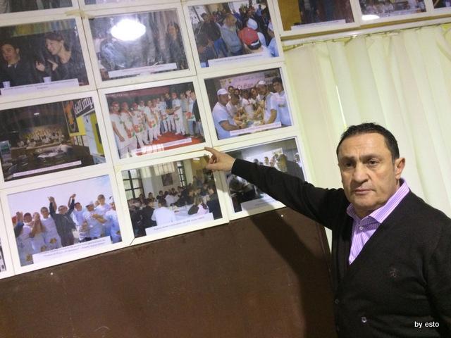 Pizzeria dell'Impossibile. Il presidente Antonio Franco