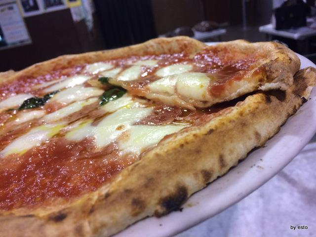 Pizzeria dell'Impossibile. La pizza margherita