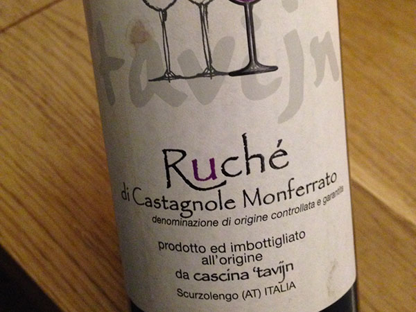 Ruché di Castagnole Monferrato 2013 Cascina 'Tavijn