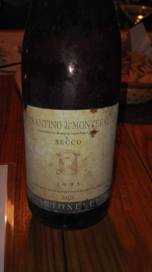 Sagrantino 1995 Antonelli