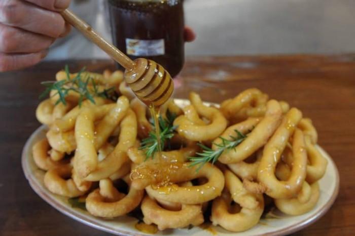 Scauratielli con miele