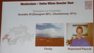 Swiss Wines, Amédée VI