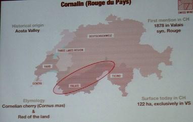 Swiss Wines,  Cornalin