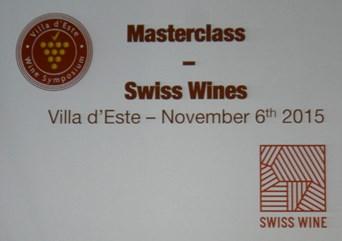 Swiss Wines, la presentazione