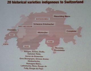Swiss Wines, varietà storiche