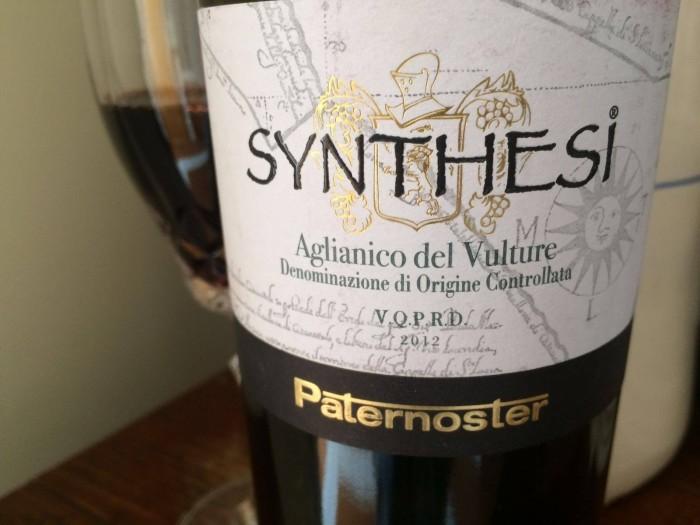Synthesi 2012 Aglianico del Vulture doc