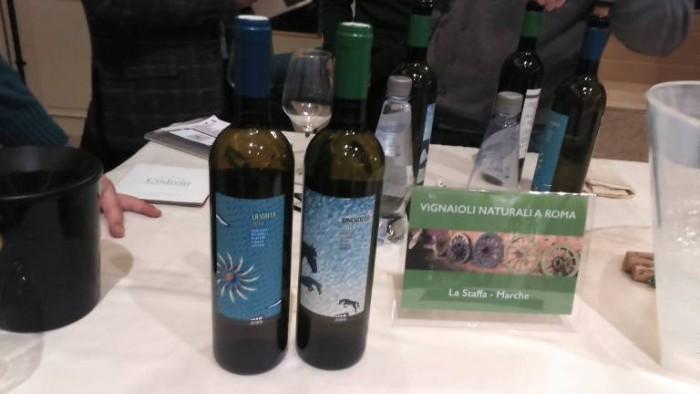 Vignaioli Naturali a Roma, alcuni vini proposti in assaggio
