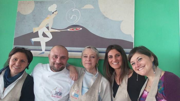 contest #sonocometumivuoi, da sinistra Marilena Bambinuto, Giuseppe Pignalosa, Manuela Piancastelli, Adele Elisabetta Granieri, Fosca Tortorelli