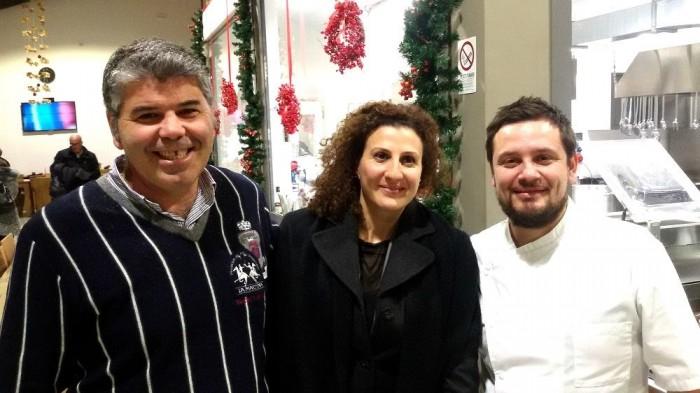 da sx Nicola Barbato, Antonella Petitti e Rinaldo Ippolito