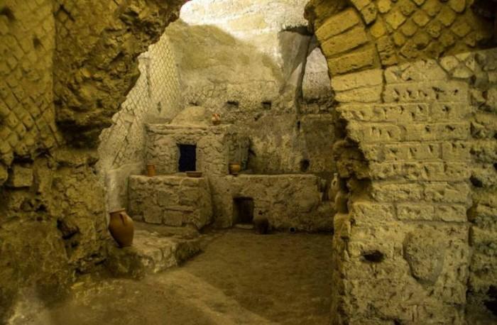 il forno della Neapolis greco romana