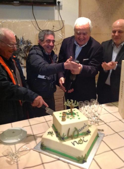la festa dei 40 anni della cooperativa Nuovo Cilento