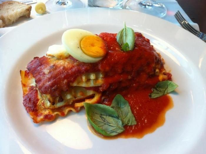 la lasagna di Vincenzo Della Monica