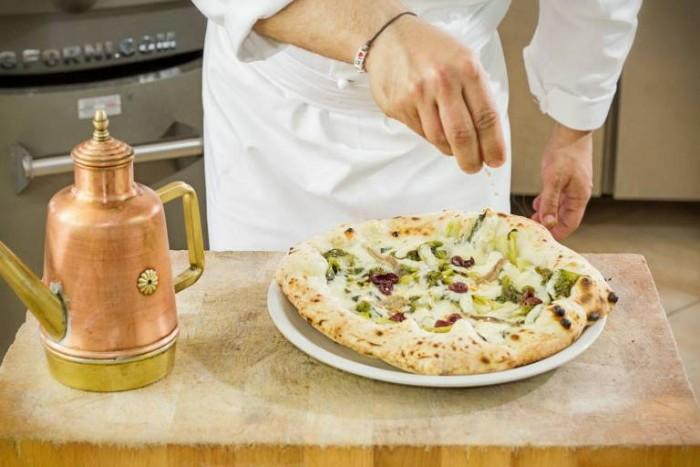 la pizza Scarulella di Giuseppe Pignalosa