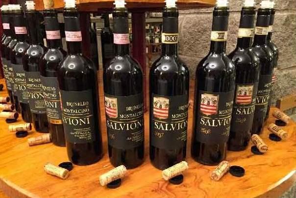 la verticale del Brunello di Montalcino di Salvioni, i campioni in degustazione - foto di Claudia Marinelli