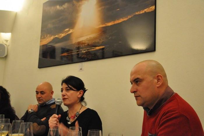 le falanghine di Sarrapochiello a Cap'alice, Marina Alaimo e Lorenzo Nifo