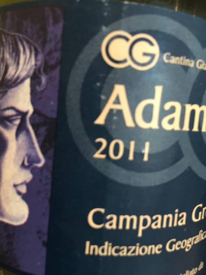 Adam 2011 Greco Campania igt Cantina Giardino