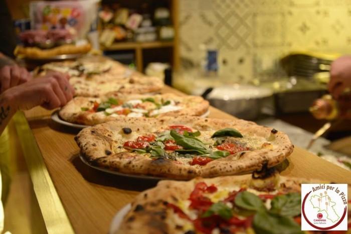 Amici per la pizza atto primo, alcune delle pizze preparate durante l'evento