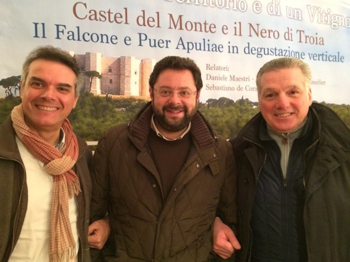 Andrea De Palma con Maurizio Balducci e Giovanni di Benedetto