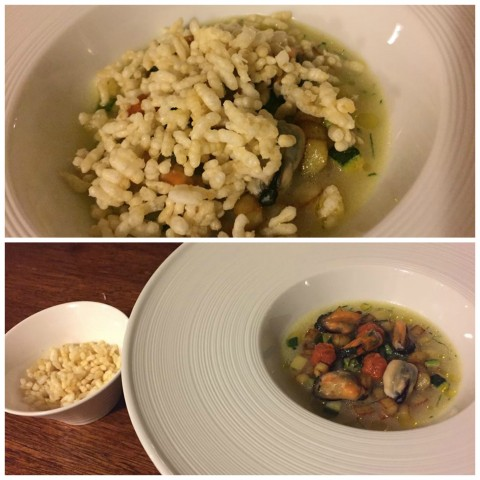 Angelo Sabatelli, riso patate e cozze