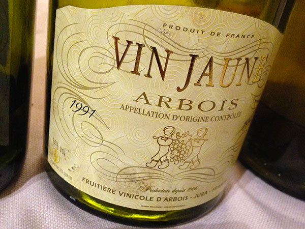 Arbois Vin Jaune 1991 Fruitière Vinicole d'Arbois