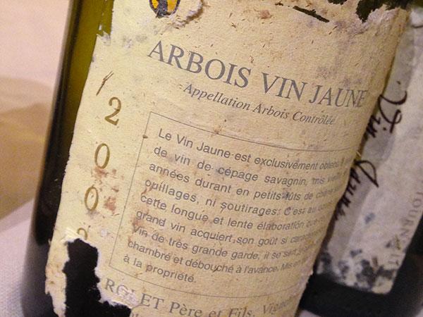 Arbois Vin Jaune 2002 Rolet Père et Fils