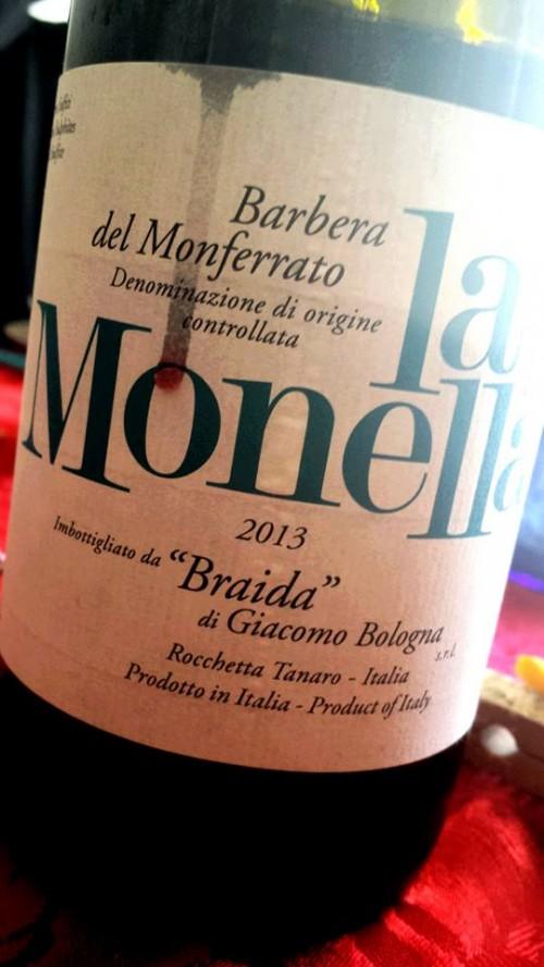 Barbera del Monferrato La Monella 2013 Braida