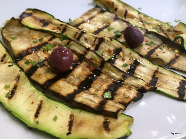 Biancobaccalà Malvi le verdure grigliate