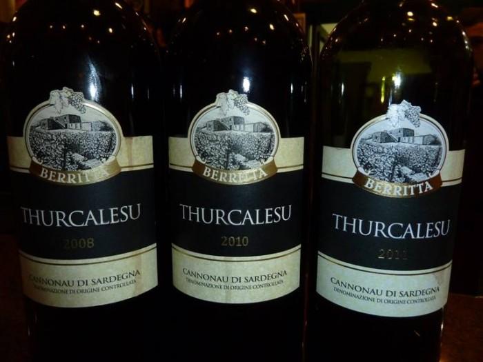 Cannonau Thurcalesu di Cantina Berritta
