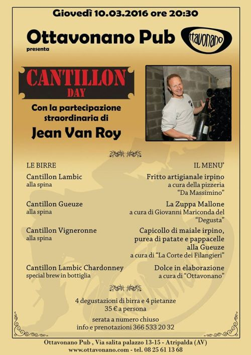 Cantillon Day all'Ottavonano