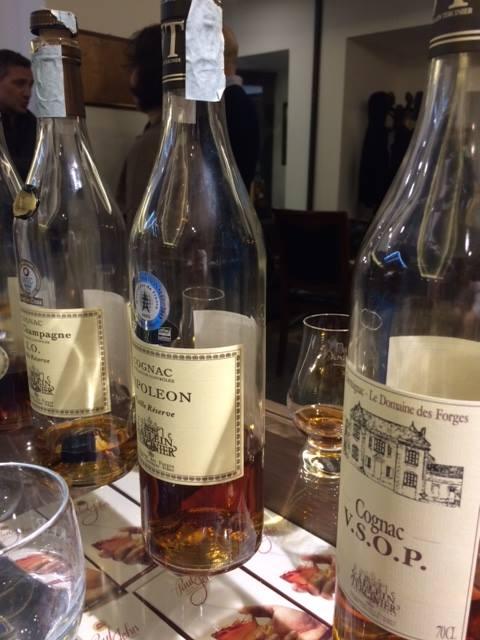 Cognac V.S.O.P. Cognac Napoleon e Cognac XO Vieille Réserve