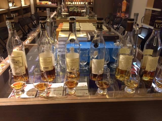 Cognac Vallein Tercinier, inizia la degustazione