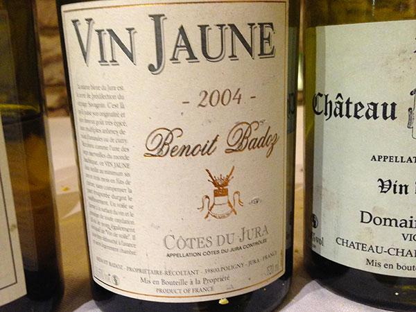 Cotes du Jura Vin Jaune 2004 Benoit Badoz