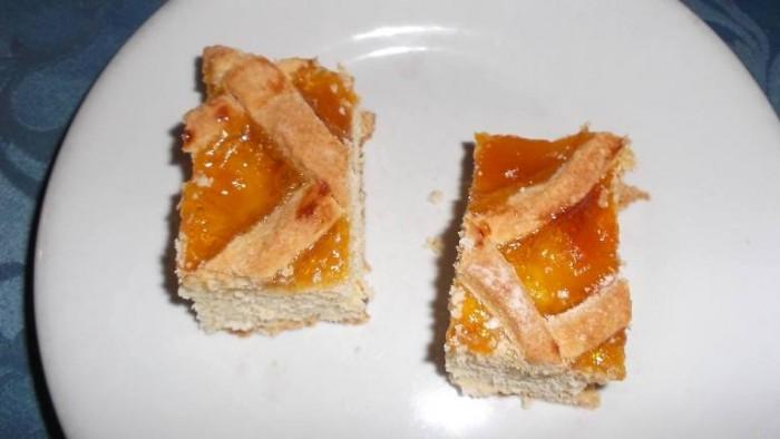 Da Cono, crostata di albicocche