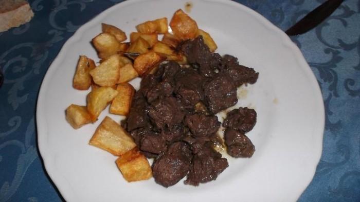 Da Cono, spezzatino di cinghiale in umido e patate