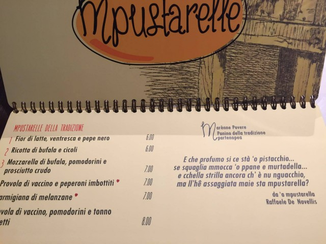 Enzo Coccia menu1