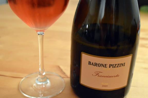 Franciacorta Rosé Barone Pizzini - immagine tratta da baronepizziniblog